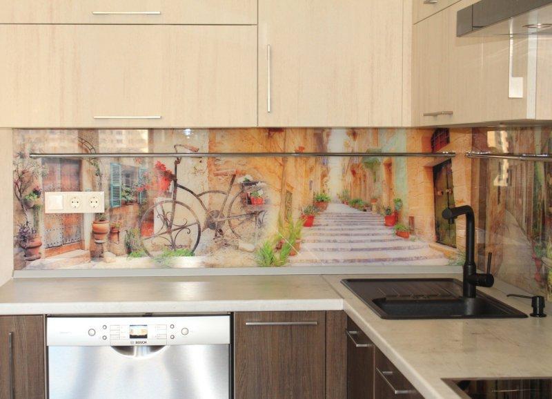 Виды панелей-фартуков для кухни и особенности фартука из ПВХ