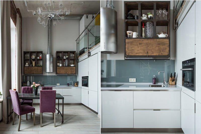 Высота фартука на кухне от пола стандарт