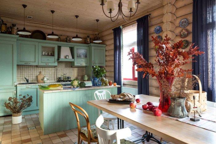 Ремонт деревенской кухни своими руками